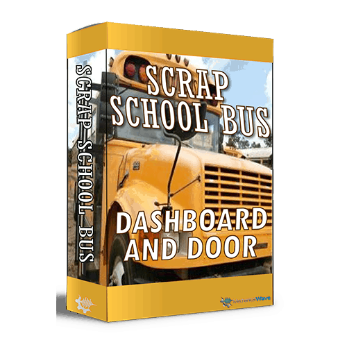 Scrap School Bus