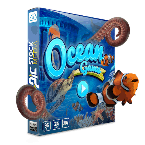 Ocean Game Sound Effects and Loops
