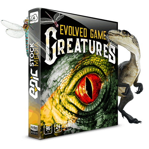 Evolved Game Creatures Monster Vocalizations 11