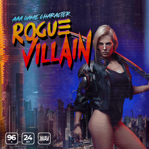 AAA Game Character Female Rogue Villain Cover Image