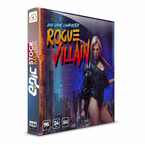 AAA Game Character Female Rogue Villain Box Image