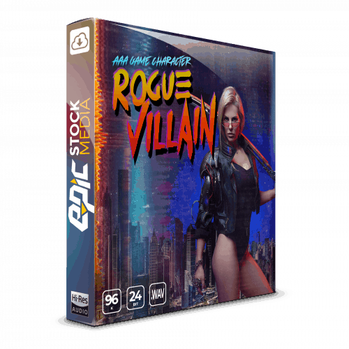 AAA Game Character Female Rogue Villain Box Image