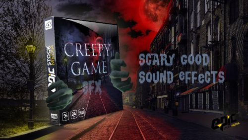 Creepy Game Sound Effects Library