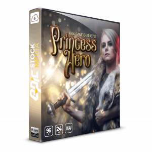 game character voiceover sound library epic stock media princess hero
