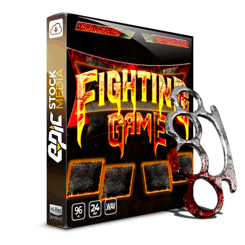 Fighting Game SFX Sound Library Epic Stock Media